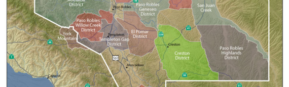 Paso Robles Wine Country split into 11 new areas